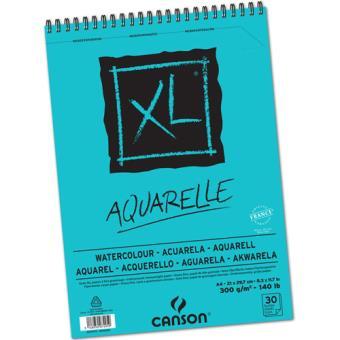 Bloco de Desenho Canson XL Aquarelle A3 300gr