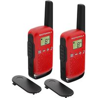 Walkie Talkie Motorola TLKR T42 - Vermelho
