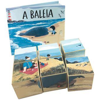 A Baleia - Livro e Puzzle