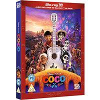 Coco - Blu-ray 3D + 2D + BD Extras Importação