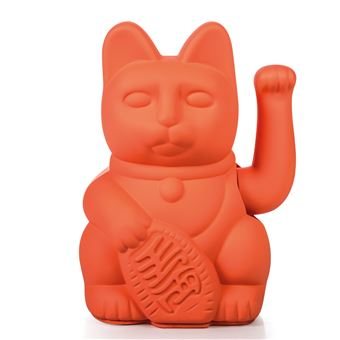 Lucky Cat Donkey - Neon Pink