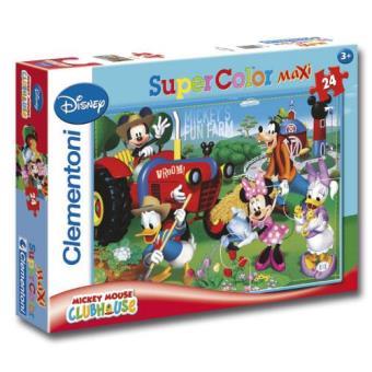 Puzzle Maxi Mickey - 24 Peças