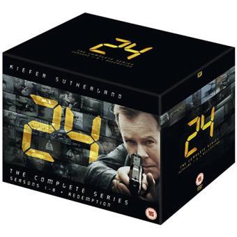 24 - Season 1-8 + Redemption (55 DVD's)