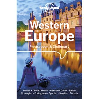 Lonely Planet Travel Guide - Western Europe Phrasebook & Dict 6