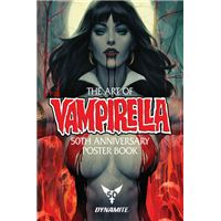Vampirella 50th anniversary poster