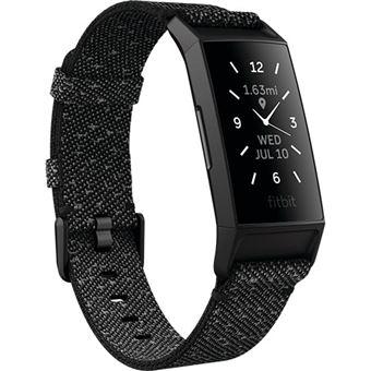 Pulseira de Atividade Fitbit Charge 4 - Granite Reflective Woven