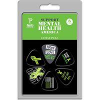 Palheta Perris LP-MHA1 Mental Health America Pack 6