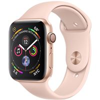 Apple Watch Series 4 40mm - Alumínio Dourado | Bracelete Desportiva - Rosa Areia