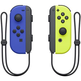 Comando Nintendo Switch Joy-Con Neon - Blue | Yellow Neon