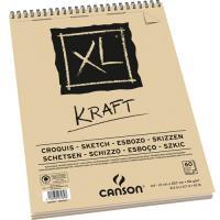 Bloco de Esboço Canson XL Kraft A4 90gr
