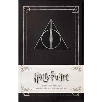 Caderno Pautado Harry Potter - Deathly Hallows A5