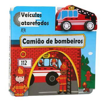 Veículos Atarefados - Camião de Bombeiros