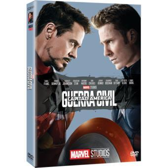 Capitão América: Guerra Civil - Capa de Colecionador - DVD