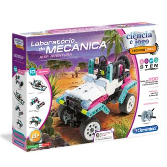 Laboratório de Mecânica: Jeep Aventura - Clementoni
