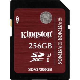 Kingston Cartão SDXC 256GB 90/80MB/s Classe 10