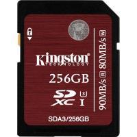 Kingston Cartão SDXC 256GB 90/80MB/s Classe 10