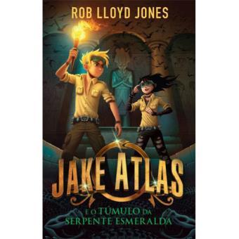 Jake Atlas e o Túmulo da Serpente Esmeralda