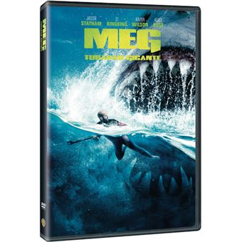Meg: Tubarão Gigante - DVD