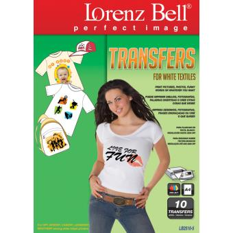 Lorenz Bell T-Shirt Transfer para tecidos brancos (LB2510)