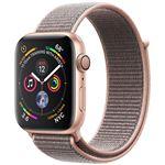 Apple Watch Series 4 40mm - Alumínio Dourado | Bracelete Loop Desportiva - Rosa Areia