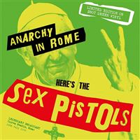 Anarchy in Rome - LP Green Vinil