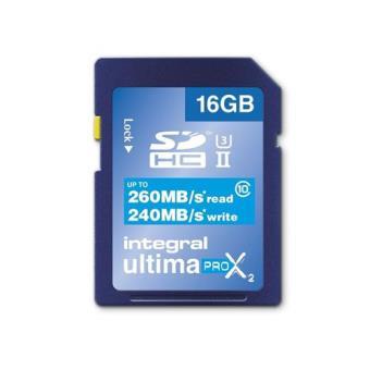 Integral UltimaPro X2 SDHC 16GB 240MB/s Classe 10