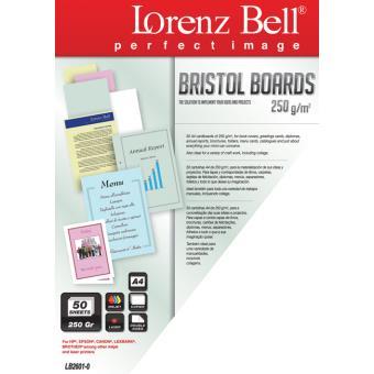 Lorenz Bell Cartolina ILC Bristol Boards 250g/50 folhas