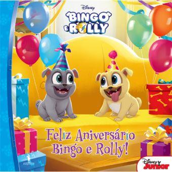 Bingo e Rolly - Livro 1: O Aniversário do Bingo e Rolly