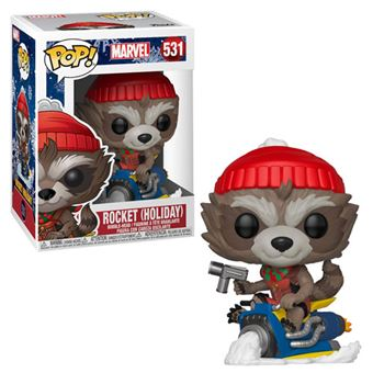 Funko Pop! Marvel Holiday: Rocket - 531