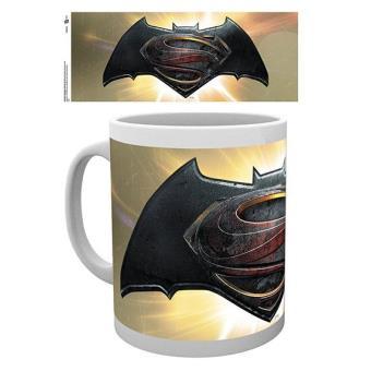 Batman Vs Superman - Caneca Logo (Gold / Dourado)