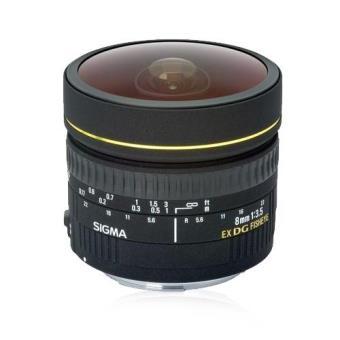 Sigma Objetiva Fisheye 8mm f/3.5 EX DG (Canon)