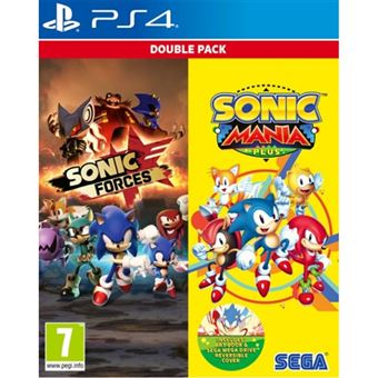 Sonic Forces & Sonic Mania Plus Double Pack - PS4
