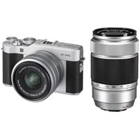 Fujifilm X-A5 + XC 15-45mm f/3.5-5.6 OIS PZ + XC 50-230mm F/4.5-6.7 OIS II - Prateado