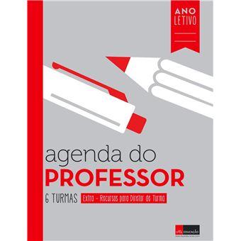 Agenda do Professor - 6 Turmas + Extras de Diretor de Turma