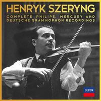 Henryk Szeryng - Complete Philips, Mercury & Deutsche Grammophon Recordings - 44CD
