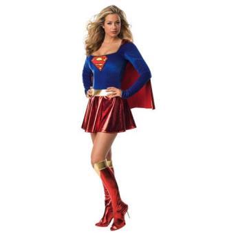 Disfarce Supergirl - Adulto (Tamanho S)