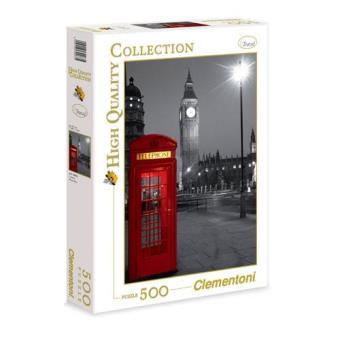 Puzzle London Phone Box (500 Peças)