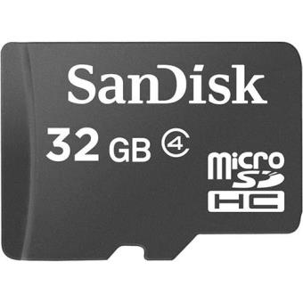 SanDisk microSDHC 32GB Class 4