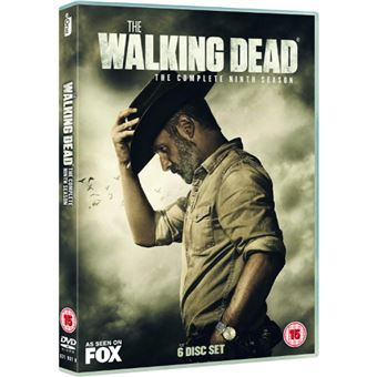 The Walking Dead - Season 9 - 6DVD Importação