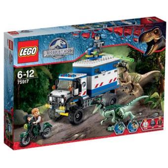 Raptor em Fúria (LEGO Jurassic World 75917)