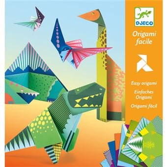 Origami - Dinossauros - Djeco