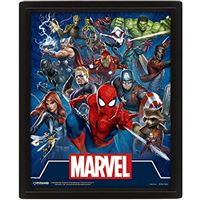 Poster Lenticular Marvel Cinematic Icons
