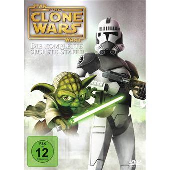 Star Wars: The Clone Wars - Season 6 - 3DVD Importação