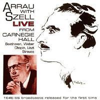 Arrau With Szell Live
