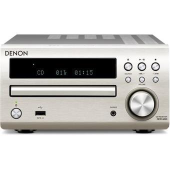 Denon Sistema Micro RCD-M40 (Prateado)