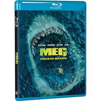 Meg: Tubarão Gigante - Blu-ray