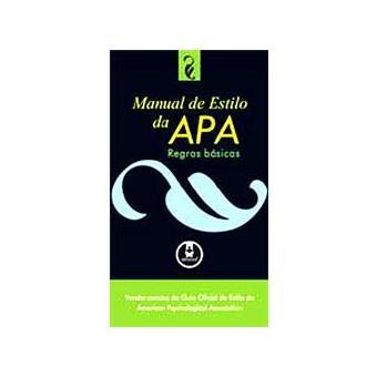 Manual de Estilo da APA: Regras Básicas