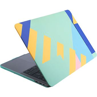 Capa Hard Shell Tucano Nido Mendini Design para MacBook Pro 13'' 2016 - Multicolor