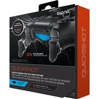 Grips Bionik Quickshot para Dualshock 4