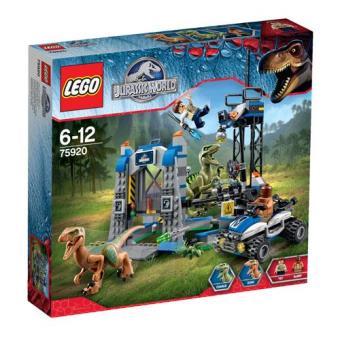 Fuga de Raptor (LEGO Jurassic World 75920)
